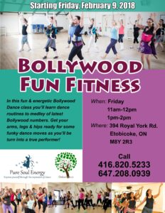 Bollywood Fitness at Oak Learners Etobicoke Mimico