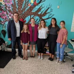 Hon. James Maloney visits Oak Learners Summer 2018