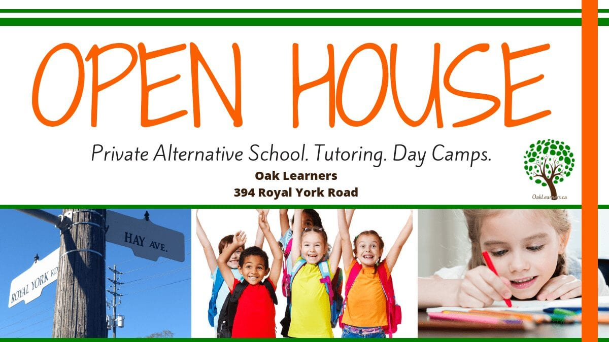 Oak Learners - open house