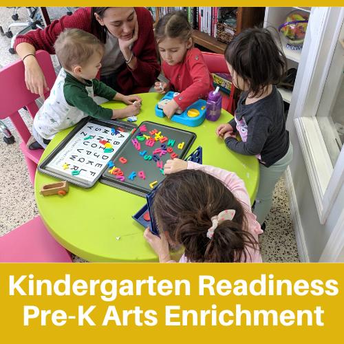 Kindergarten Readiness at Oak Learners