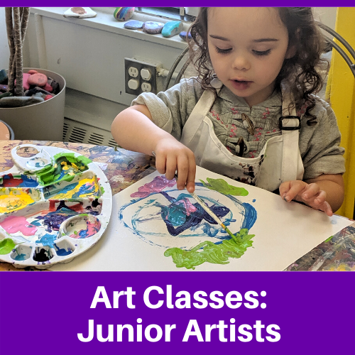 Junior Artists (Ages 4-8)
