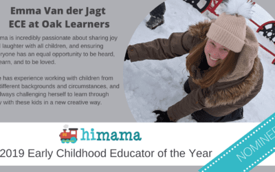 Oak Learners Kindergarten Teacher Nominated for ECE of the Year by HiMama