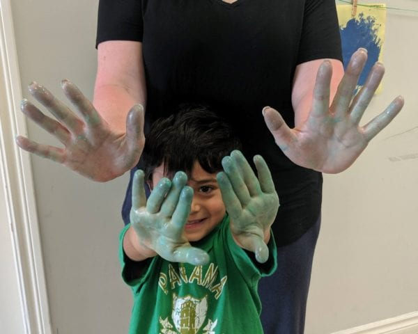 Germs on Little Hands
