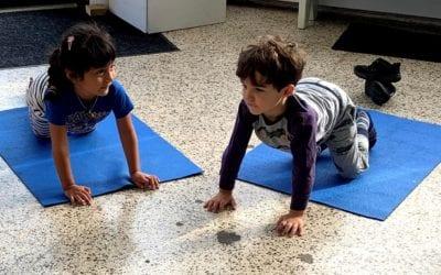 Interactive Yoga for Preschoolers, with Doran!