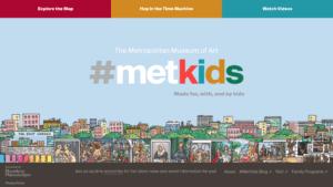 Virtual Field Trips: Unleash your Inner Artist! MetKids