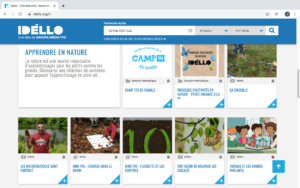 Idello French video resources