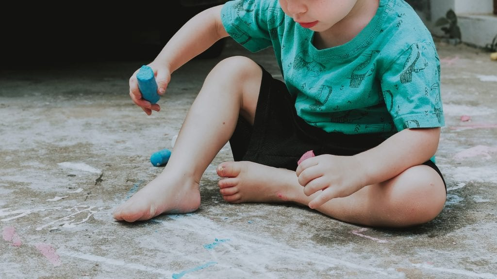 Drawing Outdoors: Creative Chalk Activities for Kids