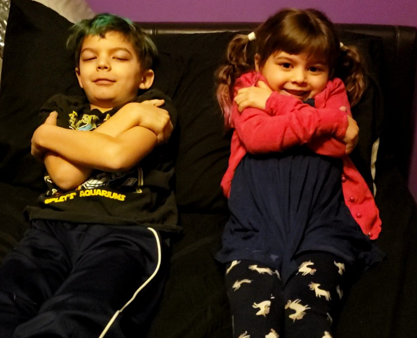 Helping children calm their bodies with progressive muscle relaxation