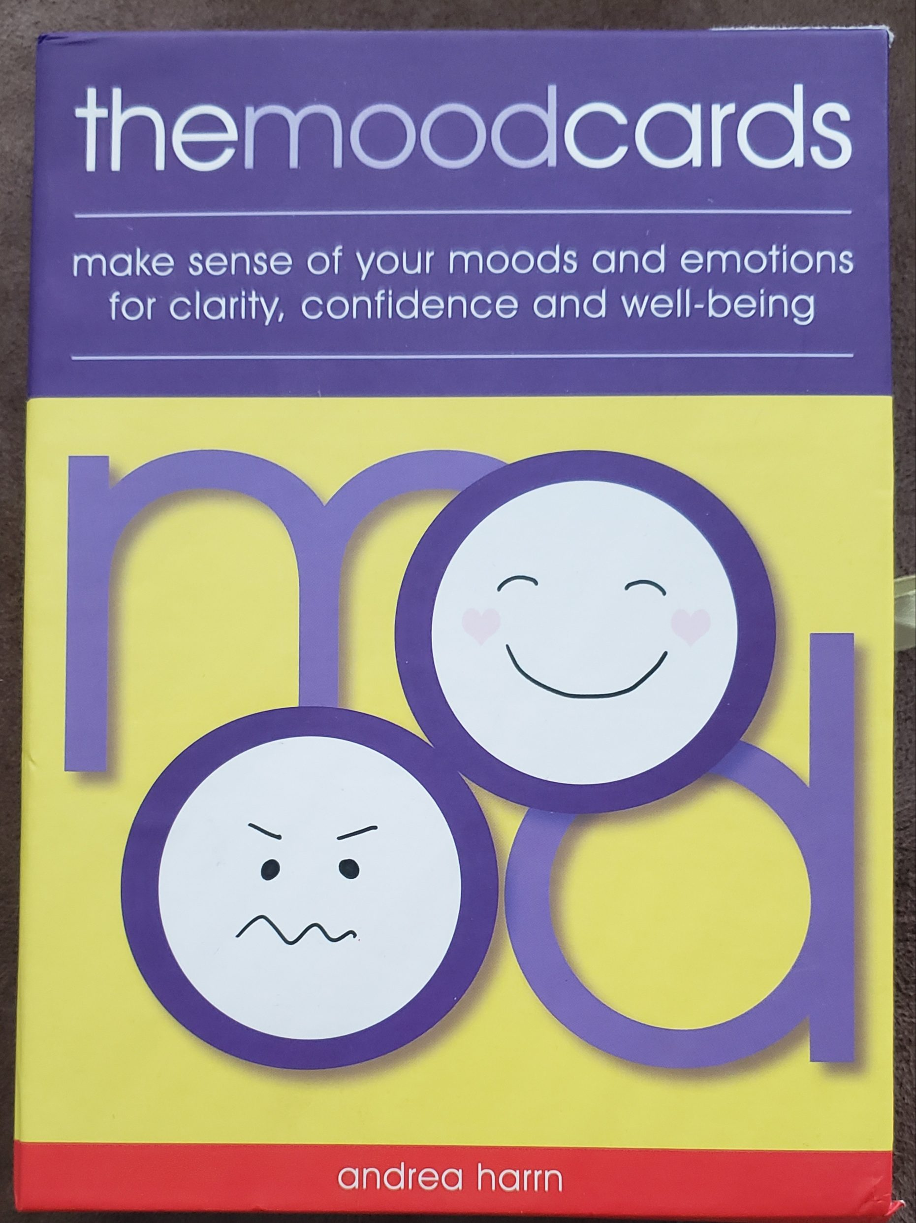 the mood cards by Andrea Harrn cover