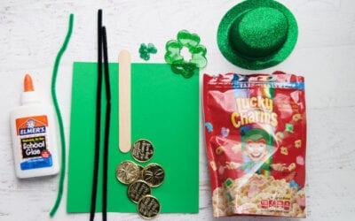 🍀 St. Patricks Day Leprechaun Trap STEM Activity! 🍀
