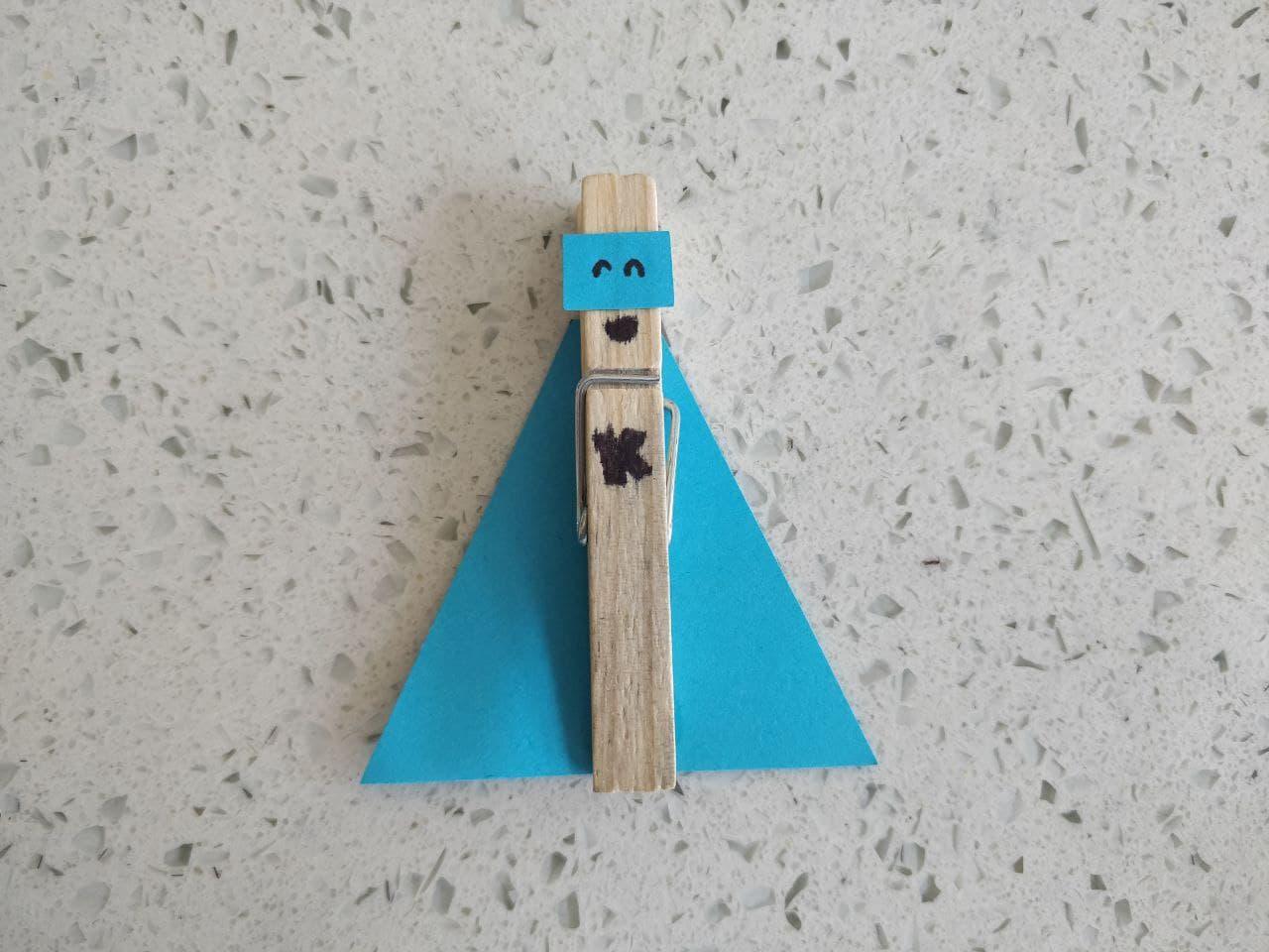 superhero clothespin