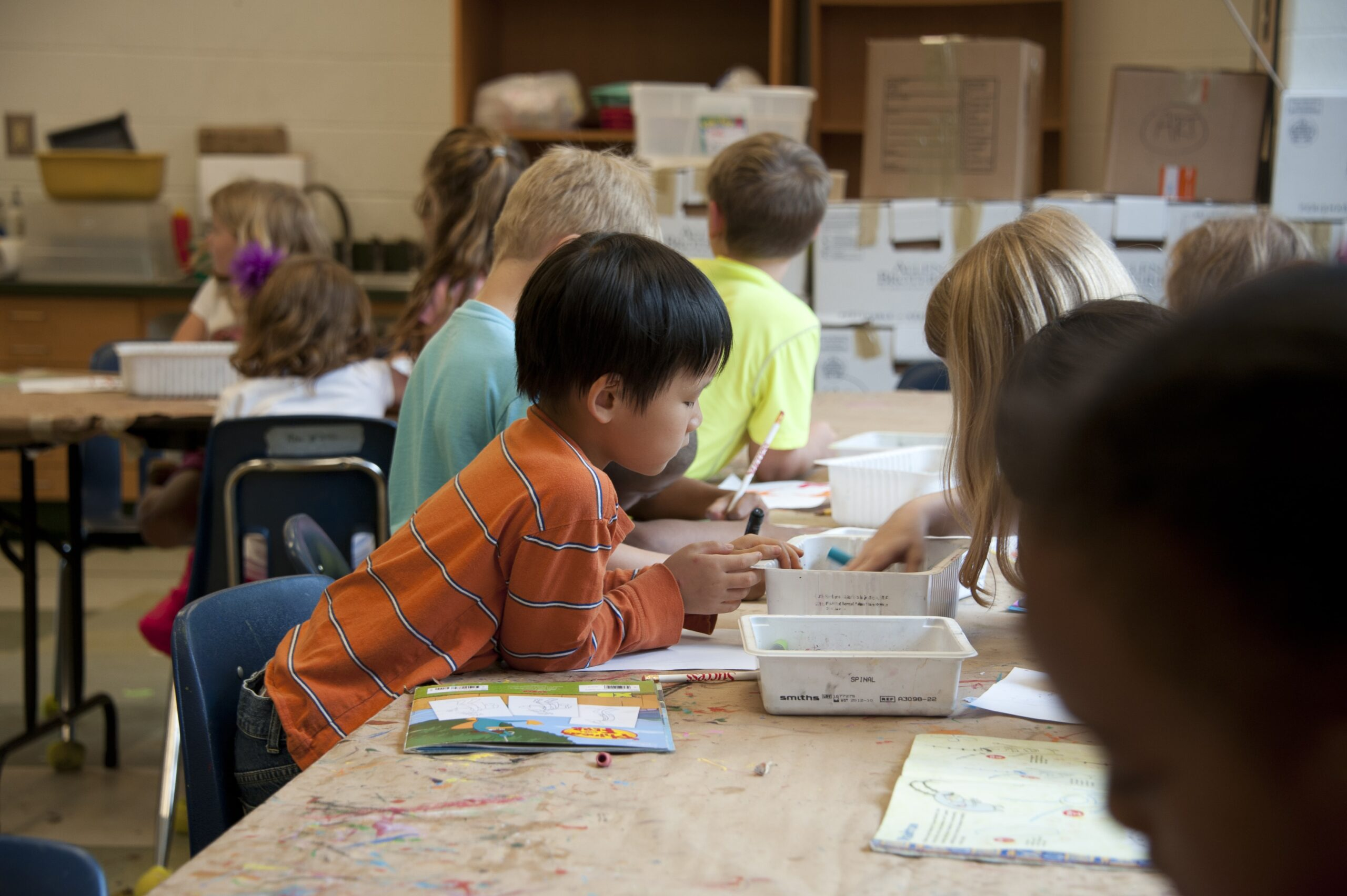 Private School - Children learning