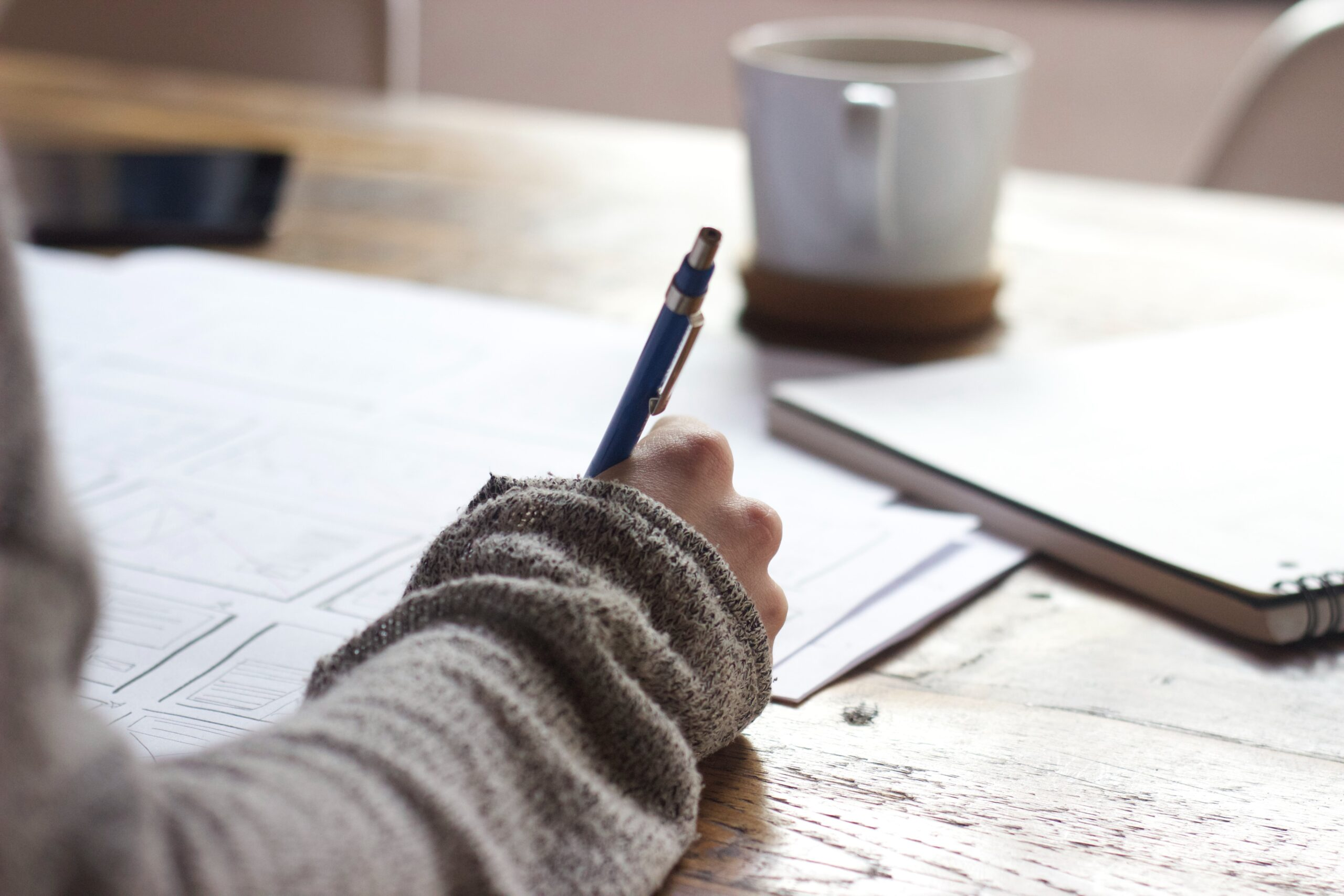 Study tips for notebook writin